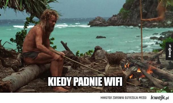 Kiedy padnie Wi-Fi