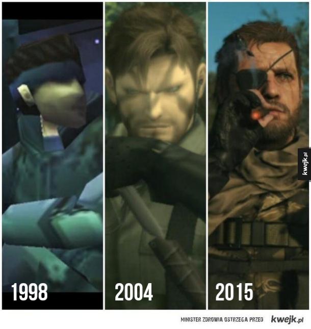 Ewolucja grafiki w MGS