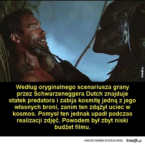 Rzeczy, których mogliście nie wiedzieć o filmie Predator - Podczas wczesnych prac nad produkcją, gdy film nosił jeszcze tytuł