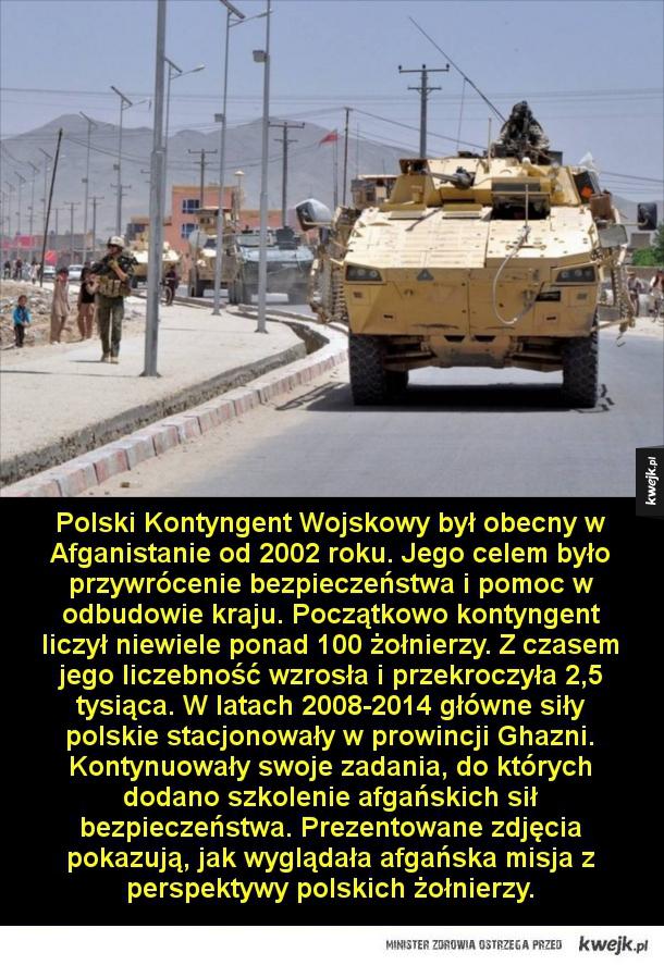 Misja w Afganistanie z perspektywy polskich żołnierzy