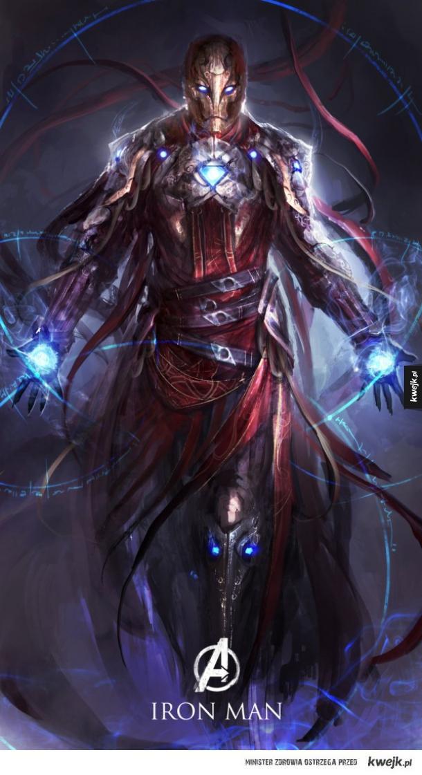 Postaci z Avengersów inspirowane dark fantasy