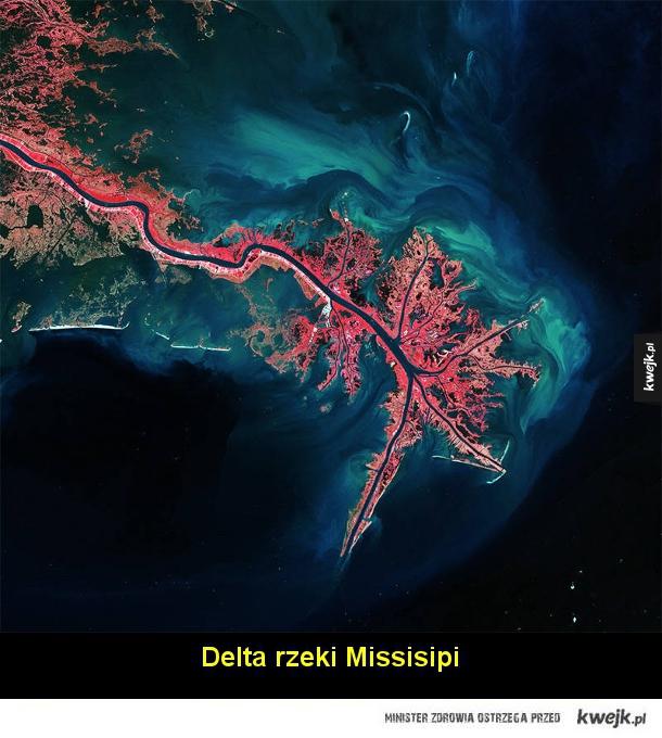 Niesamowite zdjęcia Ziemi udostępnione przez Europejską Agencję Kosmiczną