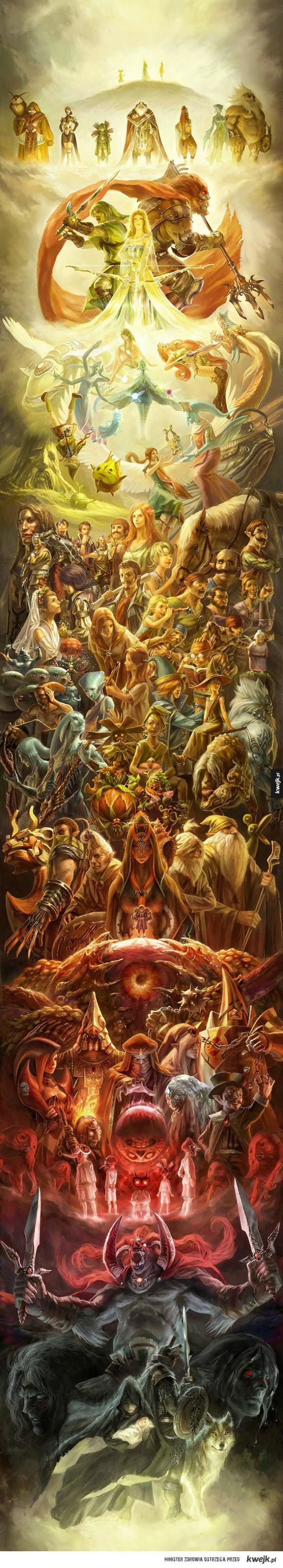 Fanarty z Legend of Zelda