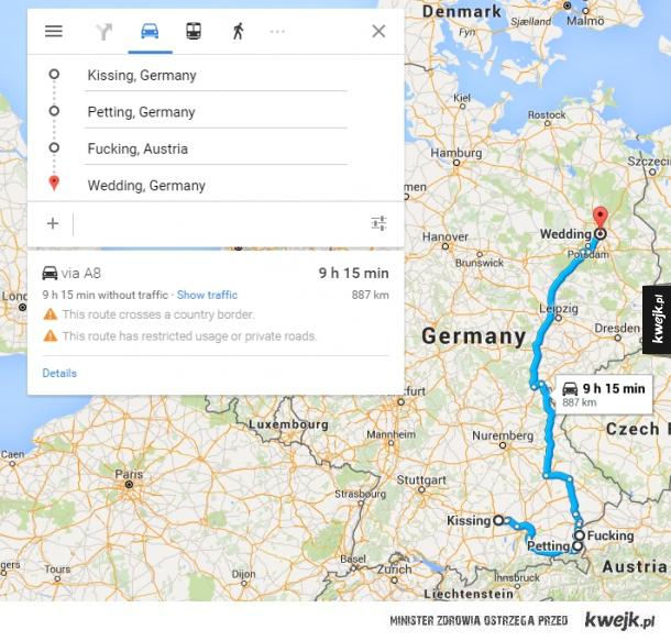 Podróż po Niemczech