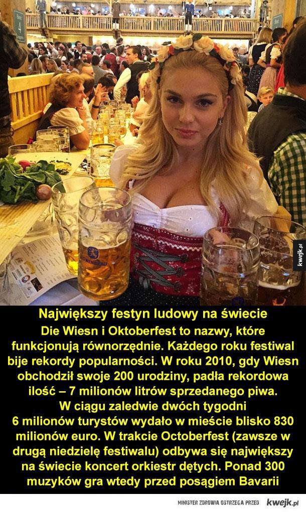 Ciekawostki o Oktoberfest - piwo, oktoberfest, monachium, bayern, niemcy, kufel, bawaria