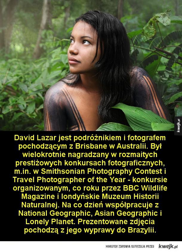 David Lazar jest podróżnikiem i fotografem pochodzącym z Brisbane w Australii. Był wielokrotnie nagradzany w rozmaitych prestiżowych konkursach fotograficznych, m.in. w Smithsonian Photography Contest i Travel Photographer of the Year - konkursie organizow