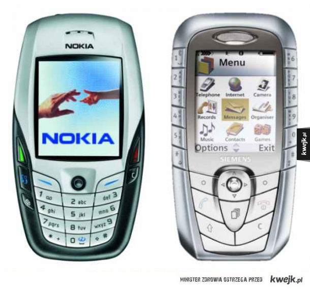 Pamiętacie jak kiedyś telefony różniły się między sobą wyglądem?