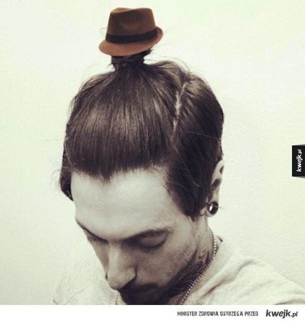 Fedora dla fryzury