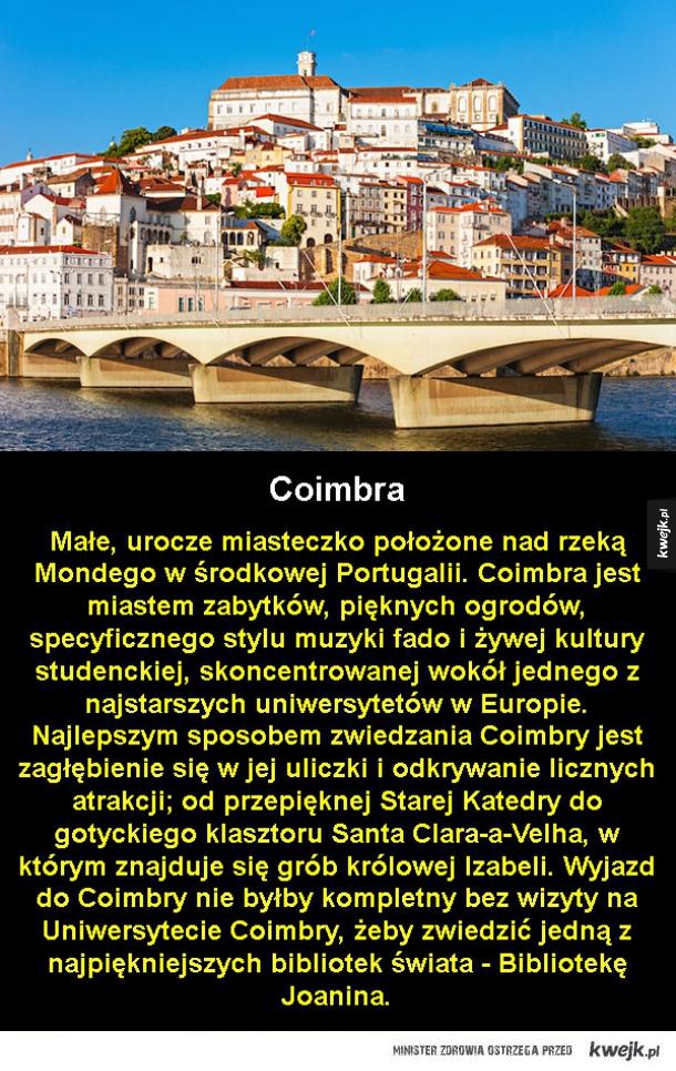 Miejsca, które warto odwiedzić w Portugalii