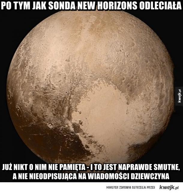 Po tym jak sonda odleciała