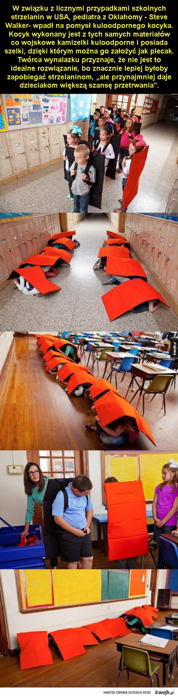 Nowy element szkolnej wyprawki w USA
