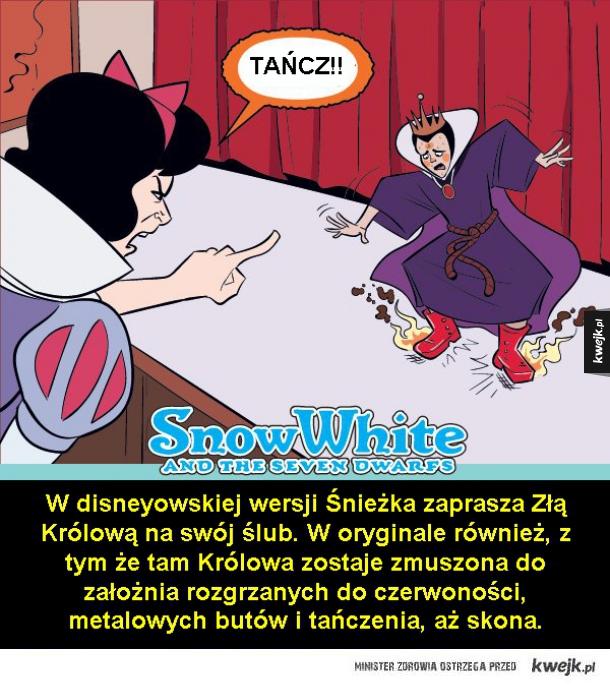 Gdyby filmy Disneya były zgodne z oryginałem