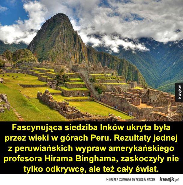Tajemnicze miasto Inków