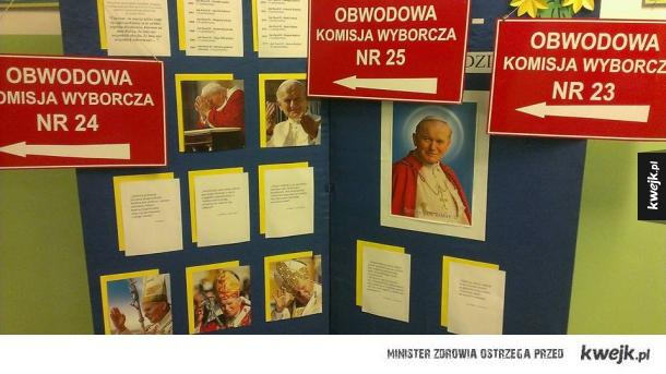 Papiesz wszędzie