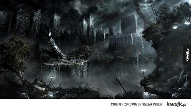 Niesamowite postapokaliptyczne grafiki