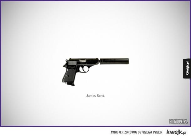 Słynne filmowe pistolety i rewolwery