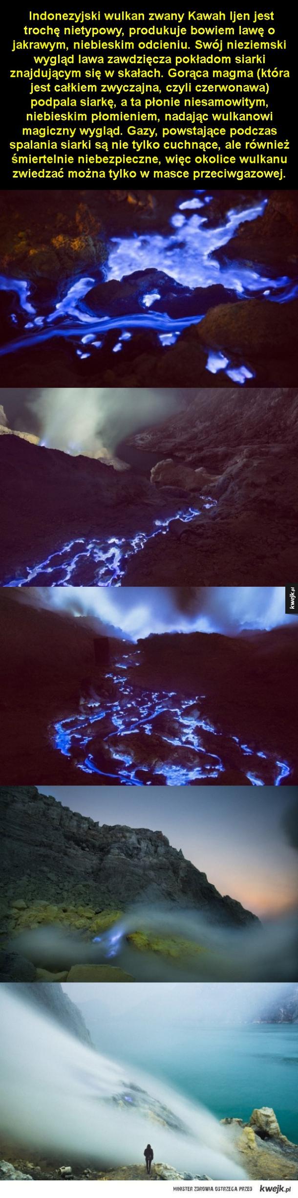 Nietypowy wulkan