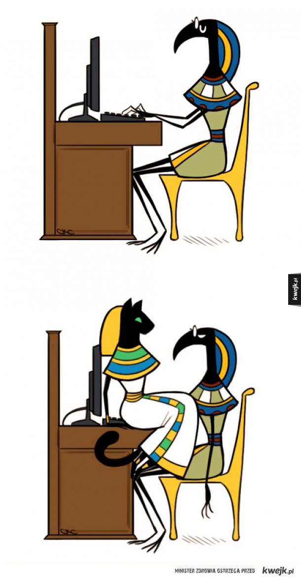 Jak przywołać Bastet, egipską bogini kotów