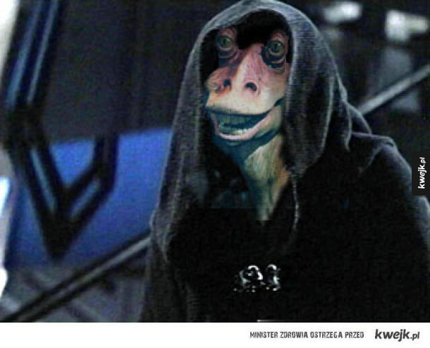 Darth Darh Binks, Jar Jar Emperor
