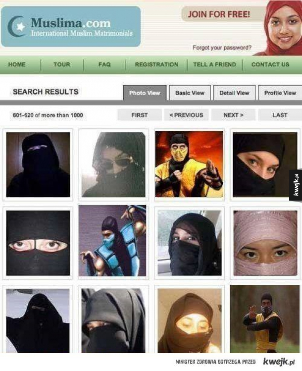 Muzułmański serwis randkowy...