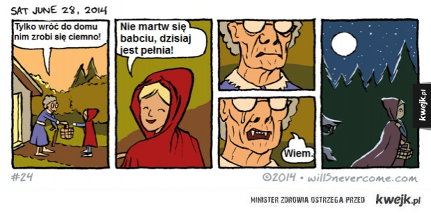 Czerwony Kapturek - historia prawdziwa