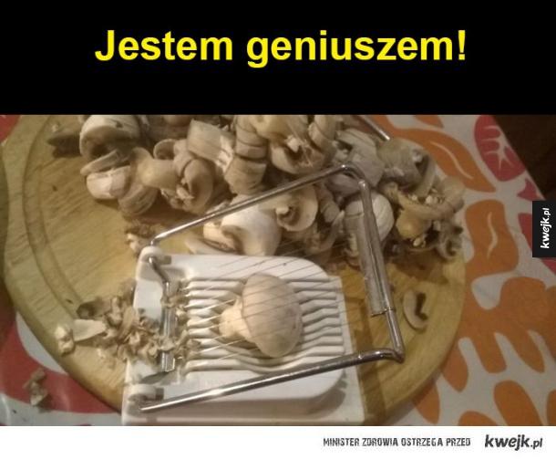Jestem geniuszem!