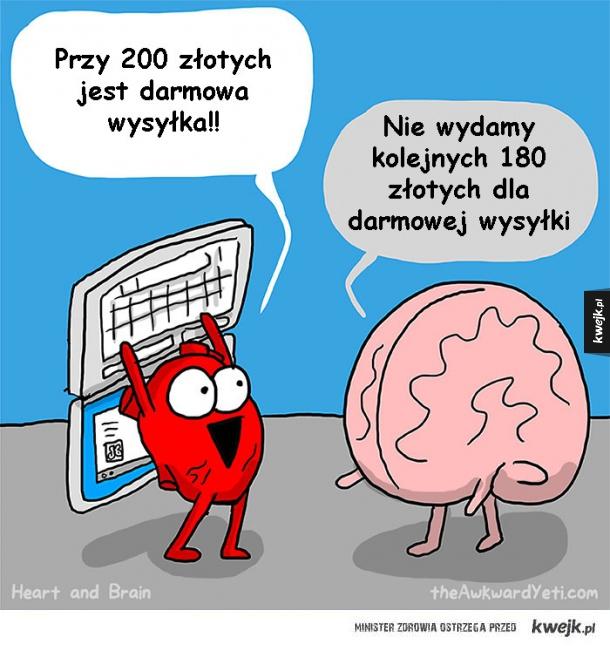 Serce kontra mózg