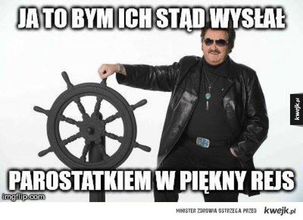 Krzysztof o imigrantach