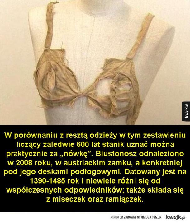 Najstarsza odzież świata