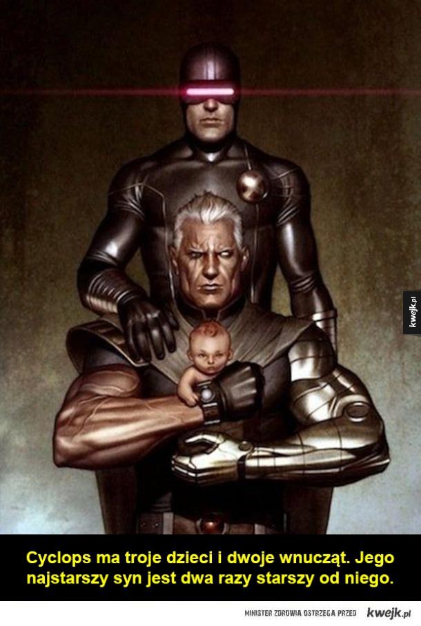 Kilka ciekawostek ze świata X-Men