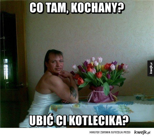 Co tam, kochany?