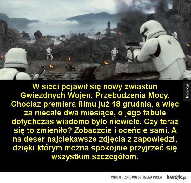 Najnowsze zdjęcia z filmu Gwiezdne Wojny: Przebudzenie Mocy