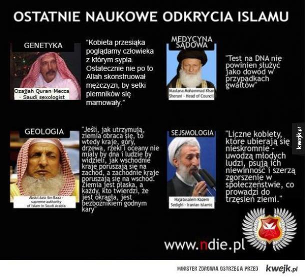Odkrycia islamu