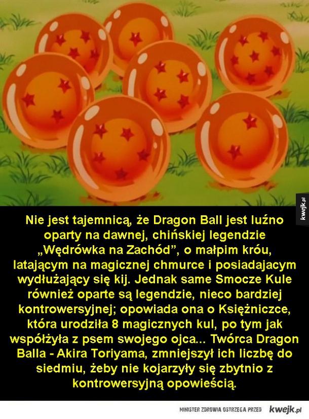 Ciekawostki o Dragon Ballu