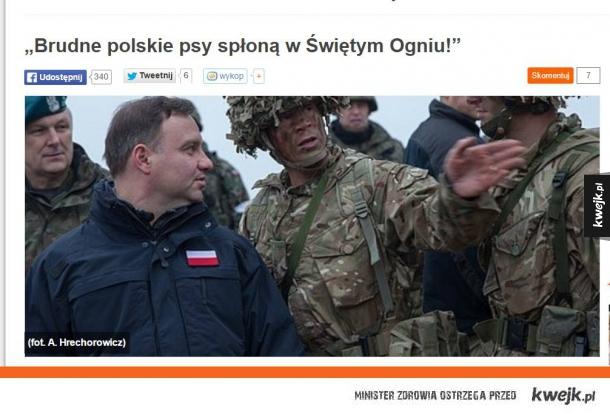 Fronda szkaluje Prezydenta Polski
