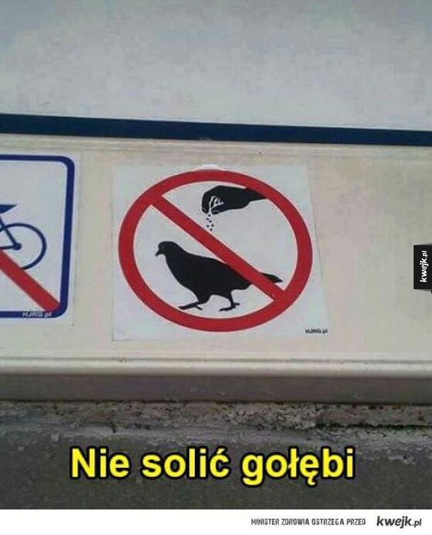 Surowy zakaz