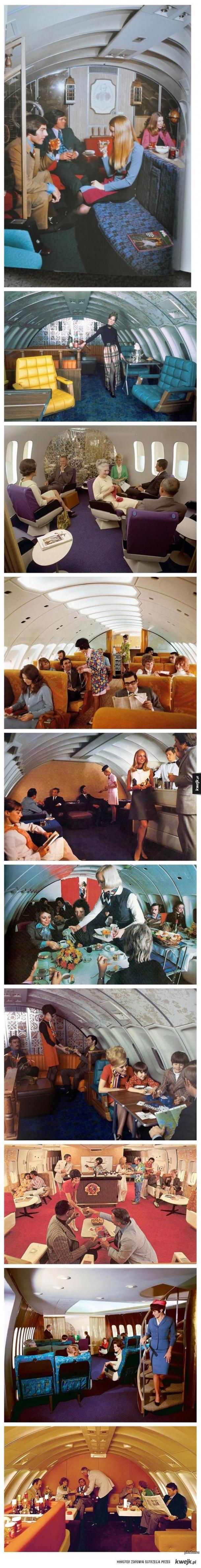 Samoloty pasażerskie z drugiej połowy XX wieku
