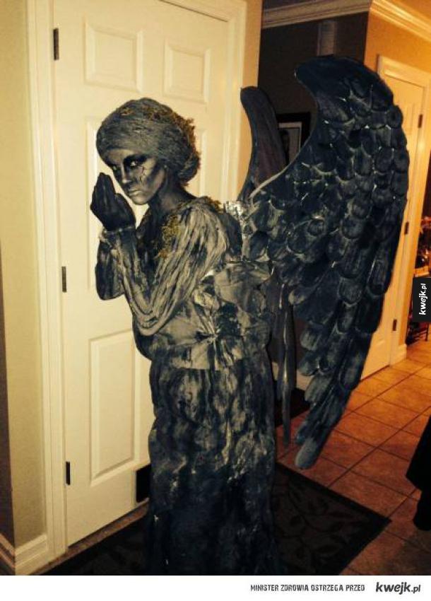 Strój płaczącego anioła
