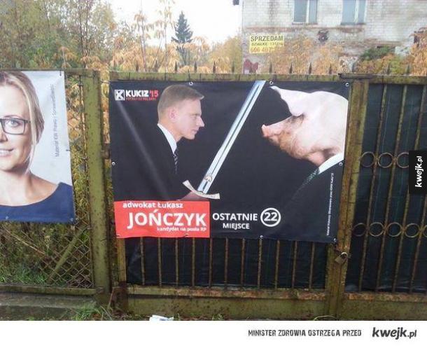 Dziwne plakaty wyborcze...