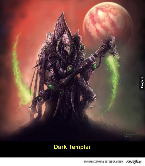Grafiki koncepcyjne do serii Starcraft
