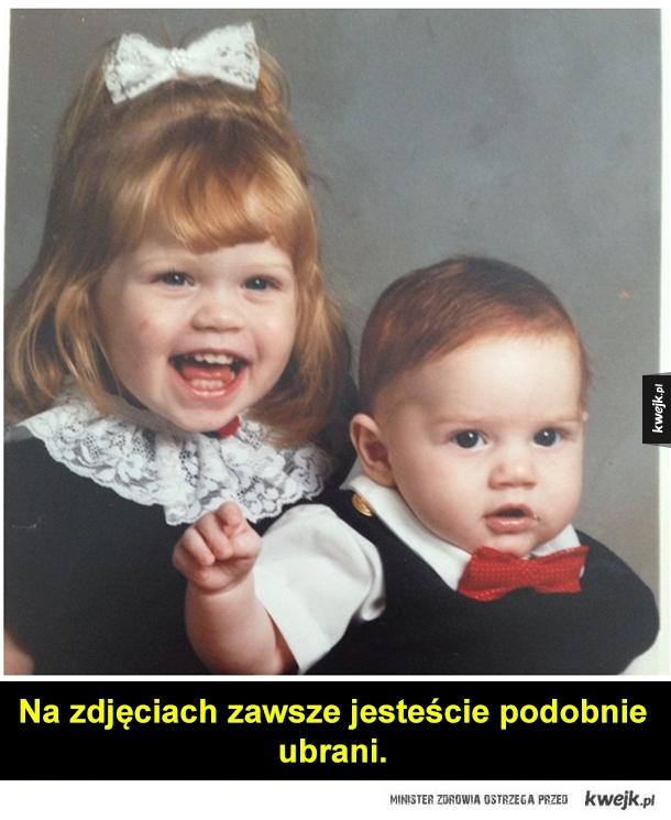 Rodzeństwa, między którymi jest niewielka różnica wieku