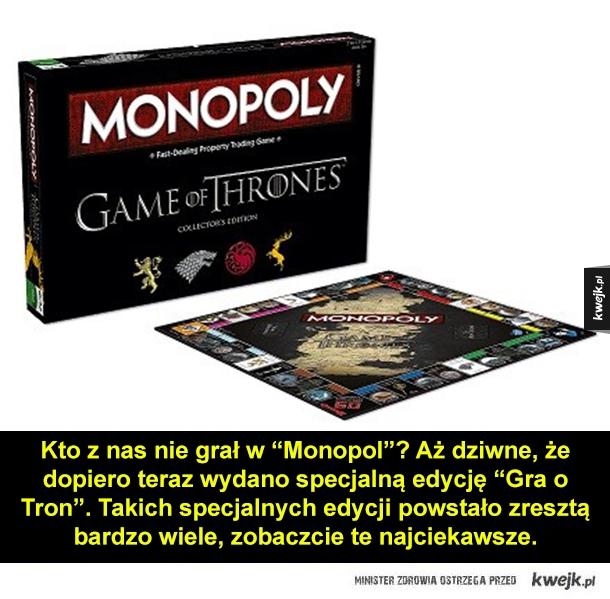 """Najciekawsze edycje """"Monopolu"""" - Kto z nas nie grał w"""