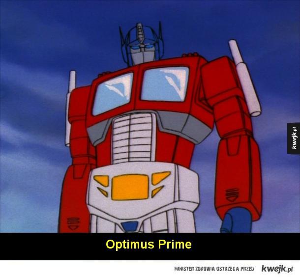 Klasyczne transformery z lat '80