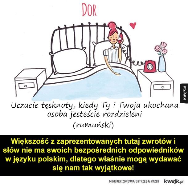 O miłości w różnych językach - Większość z zaprezentowanych tutaj zwrotów i słów nie ma swoich bezpośrednich odpowiedników w języku polskim, dlatego właśnie mogą wydawać się nam tak wyjątkowe!