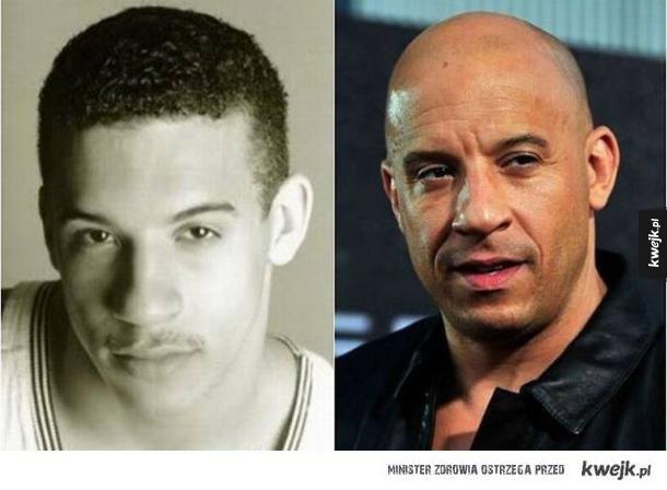 Vin Diesel z włosami!
