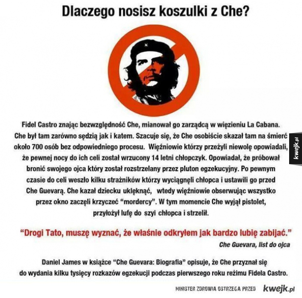 Koszulki Che Guevara