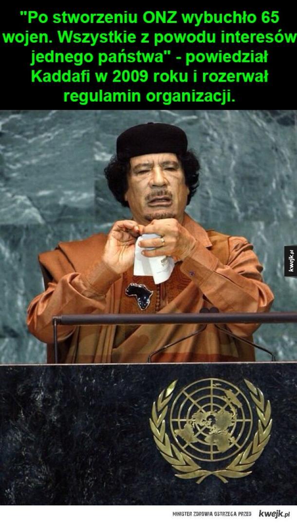 Mu'ammar al-Kaddafi