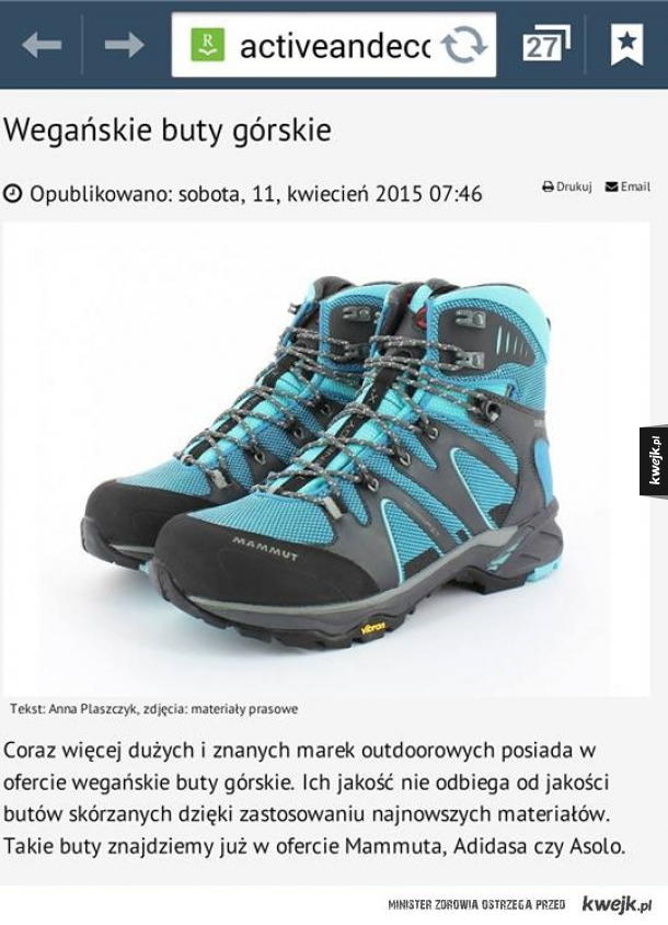 Wegańskie buty wtf