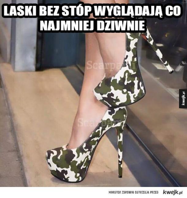 Niewidzialne buty? Czy taka choroba?