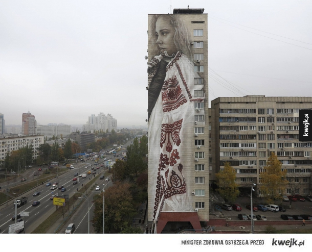 Mural na Ukrainie